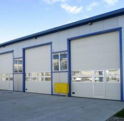 Usi de garaj sectionale industriale GIN DOORS CONSTRUCT