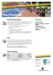 Grund pentru metal ISO PAINT - Iso Metal Primer WB
