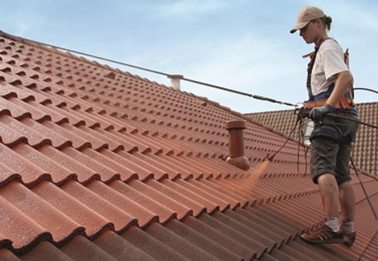 Vopsele termoizolante pentru acoperisuri cu tigla din beton, ceramica sau tabla zincata ISO PAINT