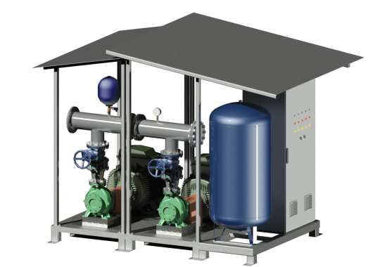 Grupuri de pompare pentru sisteme de irigatii MASTER ENGINEERING