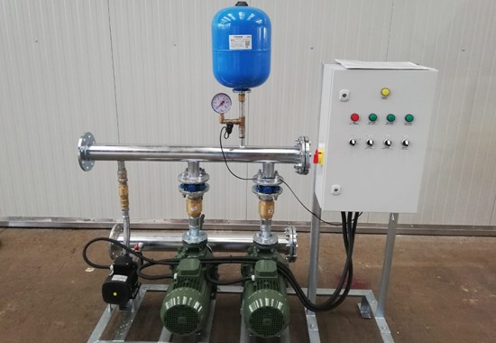 Grupuri de pompare pentru instalatii de prevenire si stingere incendiu MASTER ENGINEERING