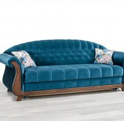Canapele de lux fixe sau extensibile, cu 2 sau 3 locuri MAVIS