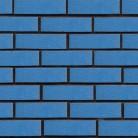 Blue - Caramida aparenta Glazurata