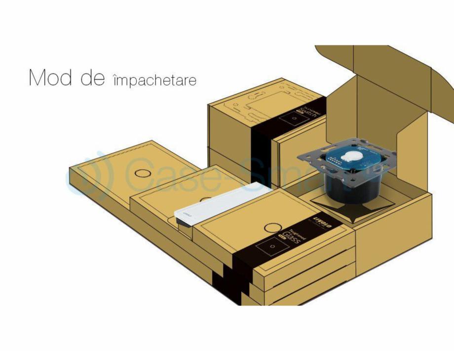 Pagina 9 - Intrerupator simplu cu touch Livolo din sticla Case Smart VL-C701 Catalog, brosura Romana...