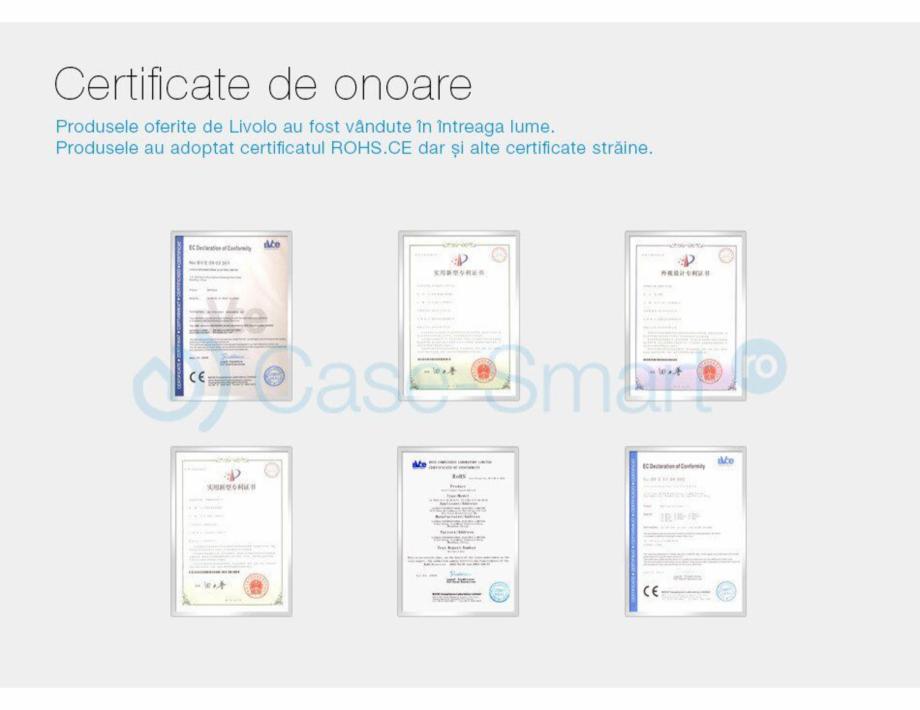 Pagina 10 - Intrerupator simplu cu touch Livolo din sticla Case Smart VL-C701 Catalog, brosura...