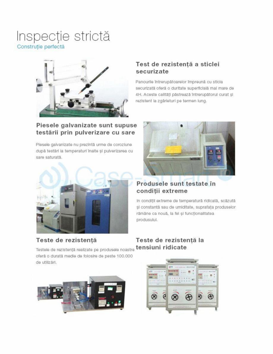 Pagina 11 - Intrerupator simplu cu touch Livolo din sticla Case Smart VL-C701 Catalog, brosura...
