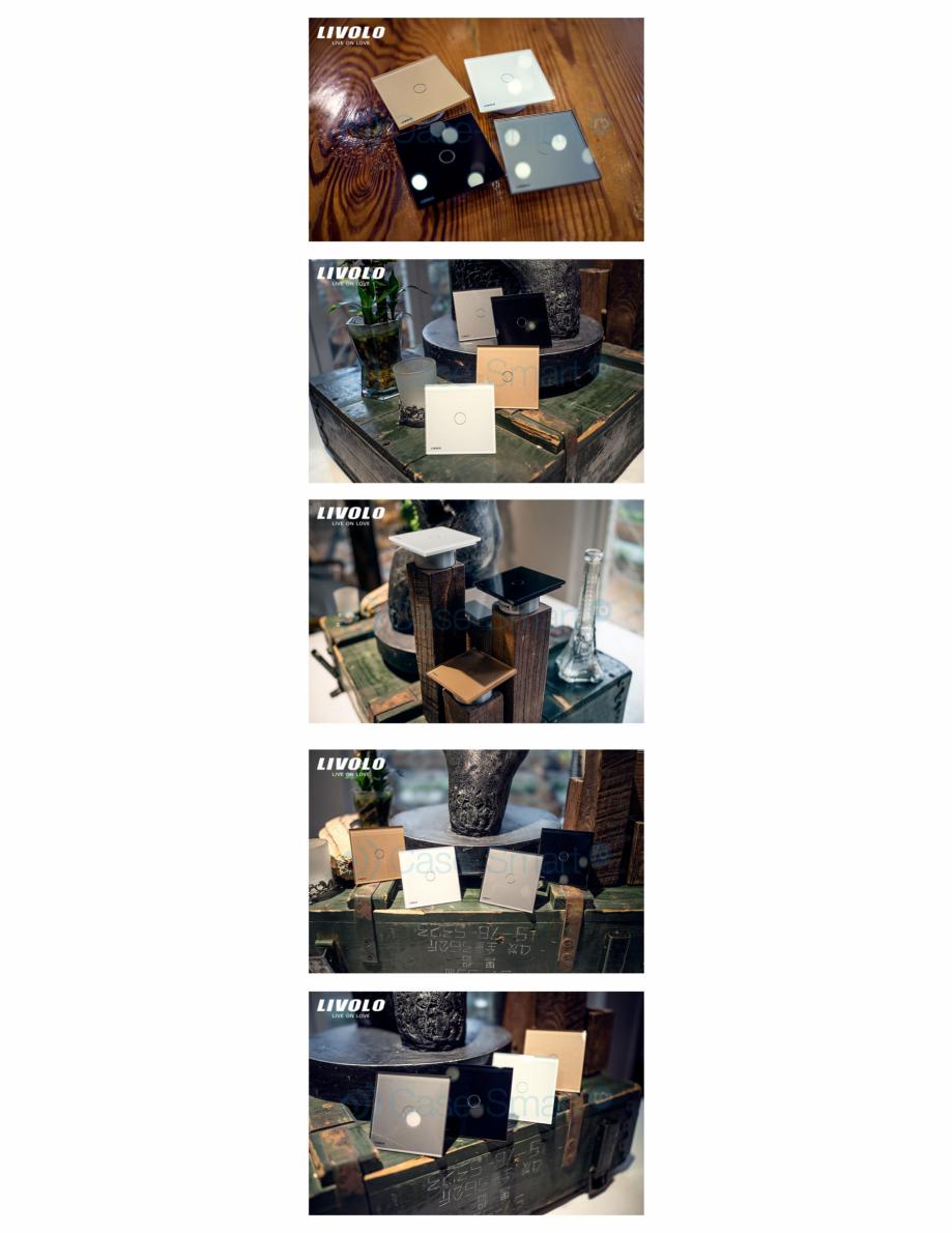 Pagina 11 - Intrerupator simplu wireless cu touch Livolo din sticla Case Smart VL-C701R Catalog,...