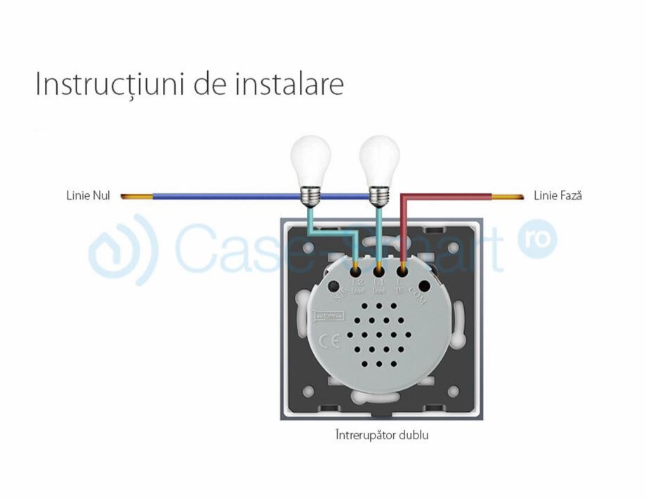 Pagina 2 - Intrerupator dublu wireless cu touch Livolo din sticla Case Smart VL-C702R Catalog,...
