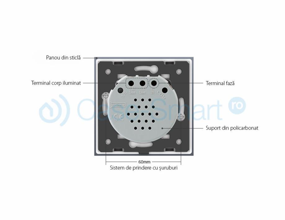 Pagina 5 - Intrerupator dublu wireless cu touch Livolo din sticla Case Smart VL-C702R Catalog,...