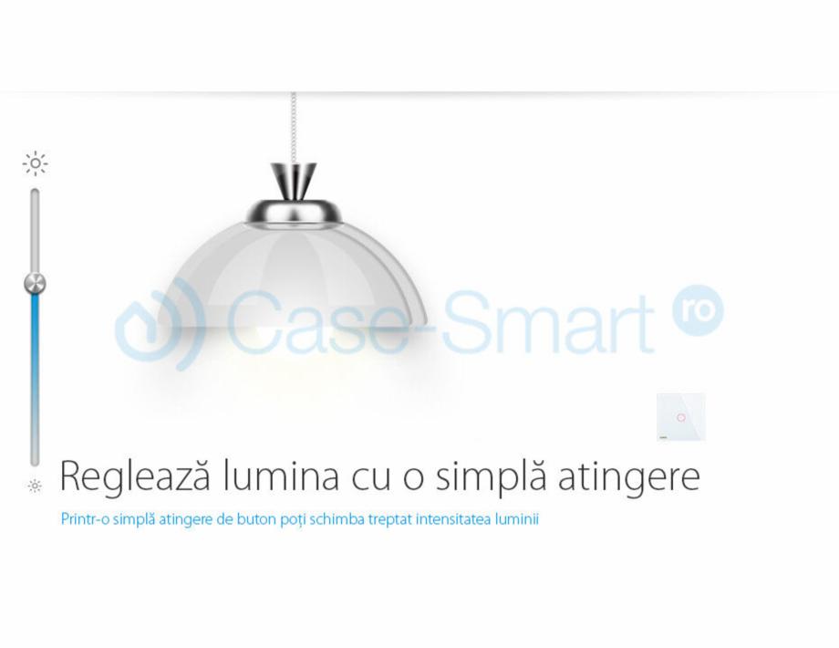 Pagina 2 - Intrerupator wireless cu variator cu touch Livolo din sticla Case Smart VL-C701DR Catalog...