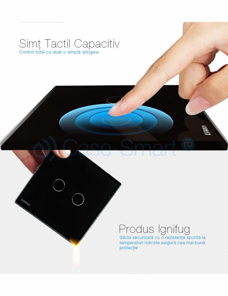 Pagina 9 - Intrerupator wireless cu variator cu touch Livolo din sticla Case Smart VL-C701DR Catalog...