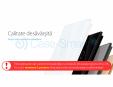 Intrerupator cap scara / cap cruce cu touch Livolo din sticla Case Smart - VL-C701S