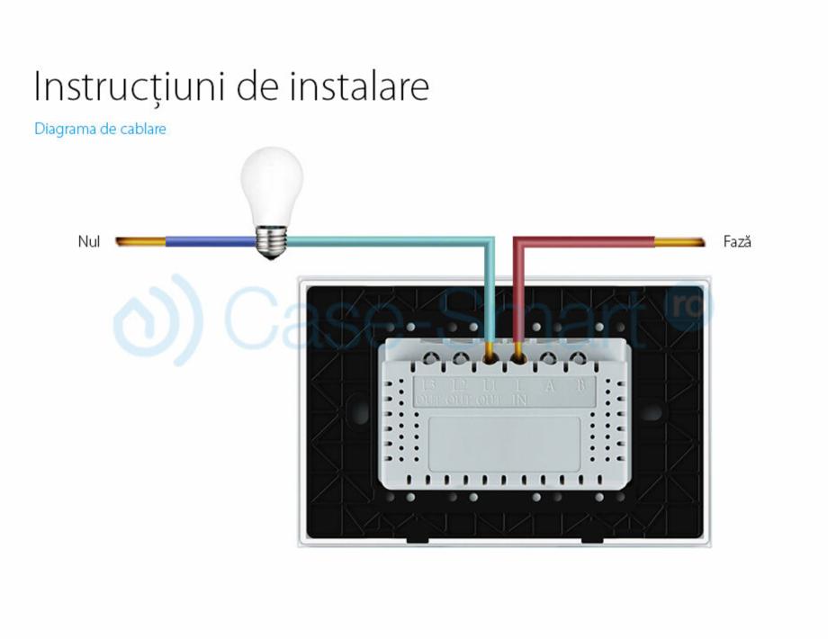 Pagina 5 - Intrerupator cu timer cu touch Case Smart VL-C301T Catalog, brosura Romana