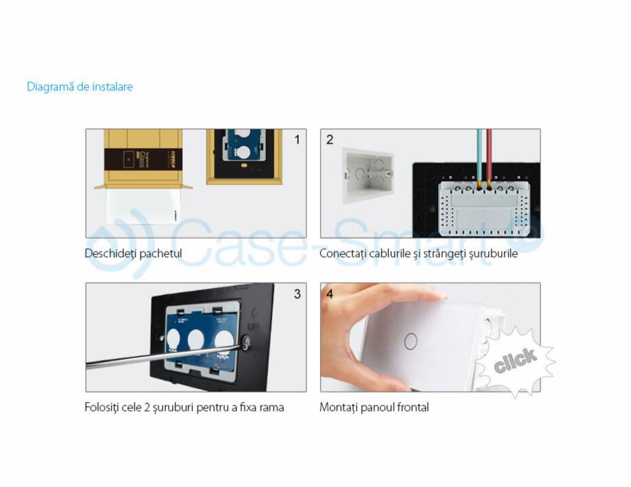 Pagina 11 - Intrerupator cu timer cu touch Case Smart VL-C301T Catalog, brosura Romana