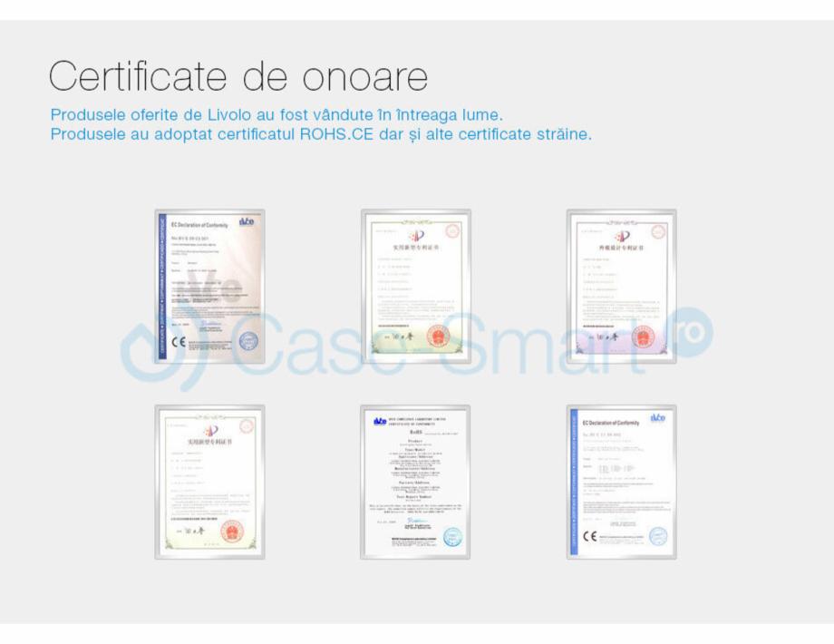 Pagina 13 - Intrerupator cu timer cu touch Case Smart VL-C301T Catalog, brosura Romana