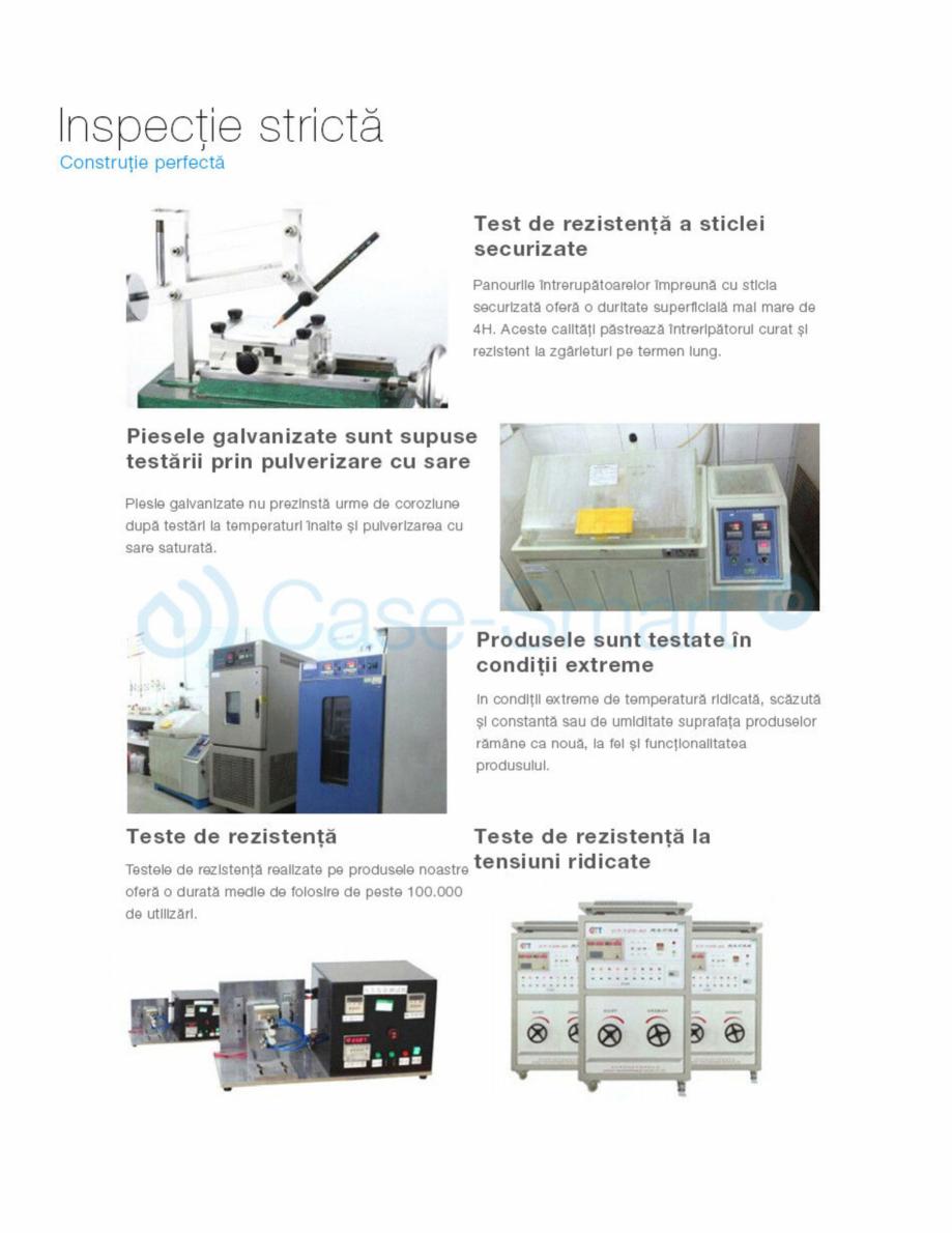 Pagina 14 - Intrerupator cu timer cu touch Case Smart VL-C301T Catalog, brosura Romana