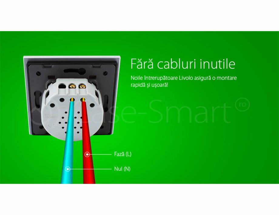 Pagina 11 - Intrerupator simplu cu touch, protocol ZigBee Case Smart VL-C701Z Catalog, brosura...