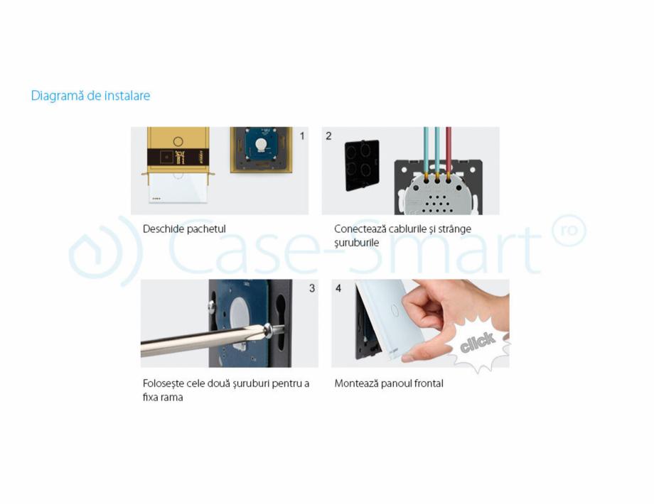 Pagina 15 - Intrerupator simplu cu touch, protocol ZigBee Case Smart VL-C701Z Catalog, brosura...
