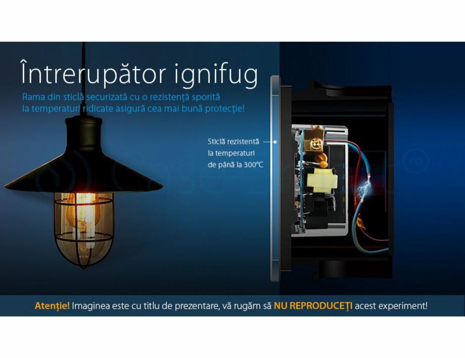 Pagina 4 - Intrerupator simplu cu touch Livolo din sticla, serie noua Case Smart 782000101SR-11...