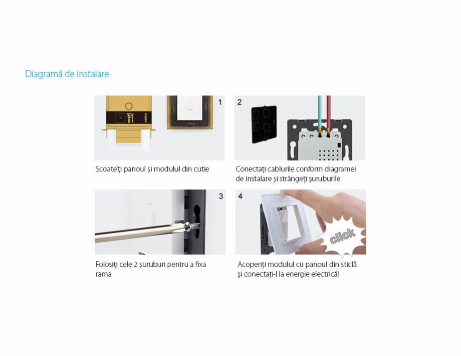 Pagina 11 - Intrerupator dublu, wireless cu touch Livolo din sticla, serie noua Case Smart...