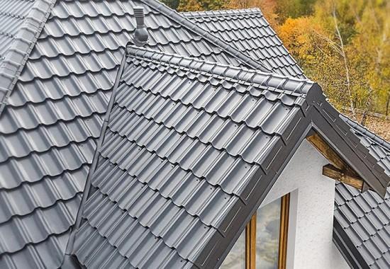 Tigle metalice pentru acoperis cu panta Budmat