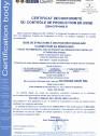 Certificat de conformitate a controlului productiei in fabrica 14081