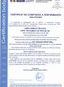 Certificat de constanta a performantei 14080