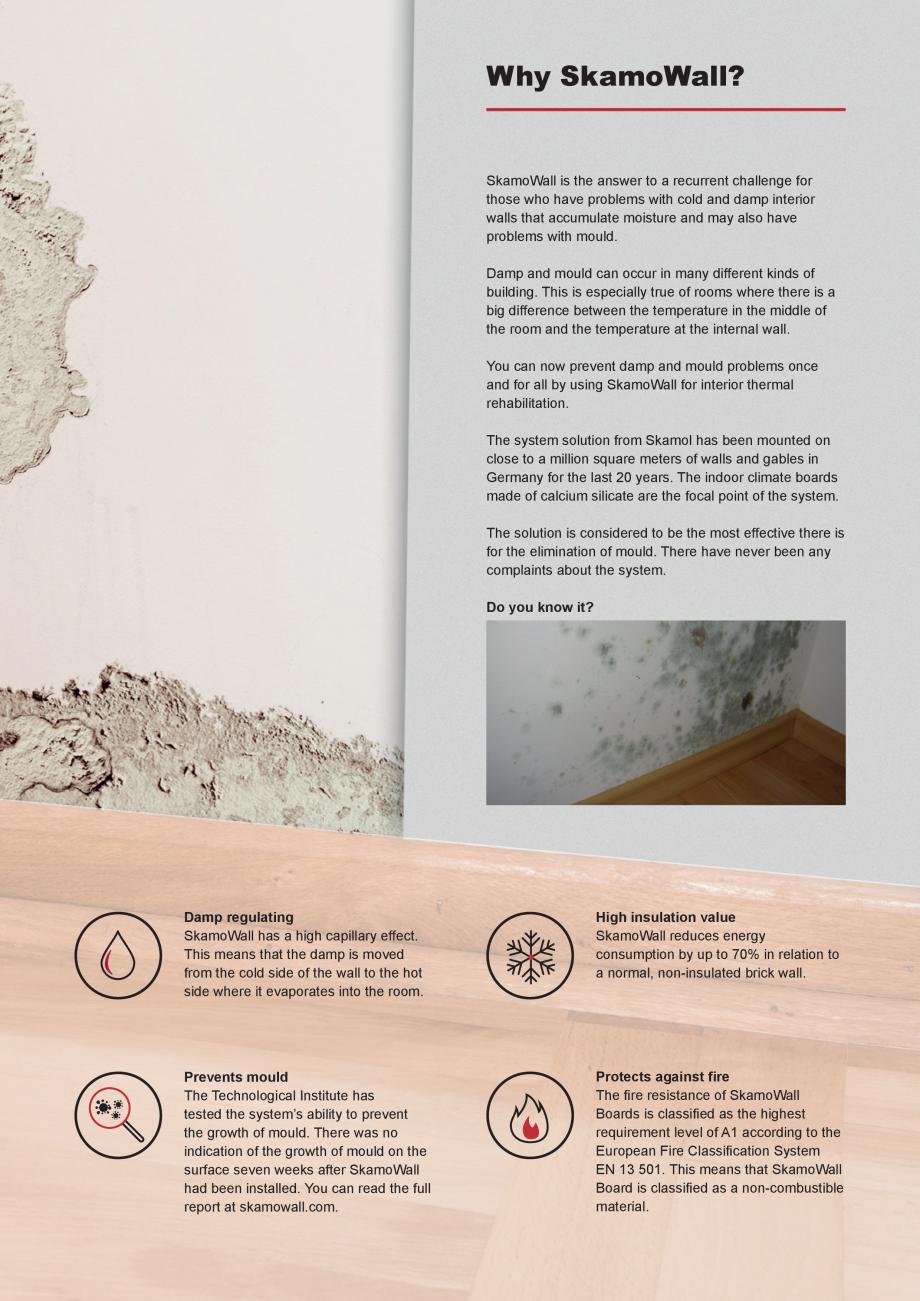 Pagina 2 - Prezentarea sistemului de izolatie pentru interior din placi de silicat de calciu SKAMOL ...