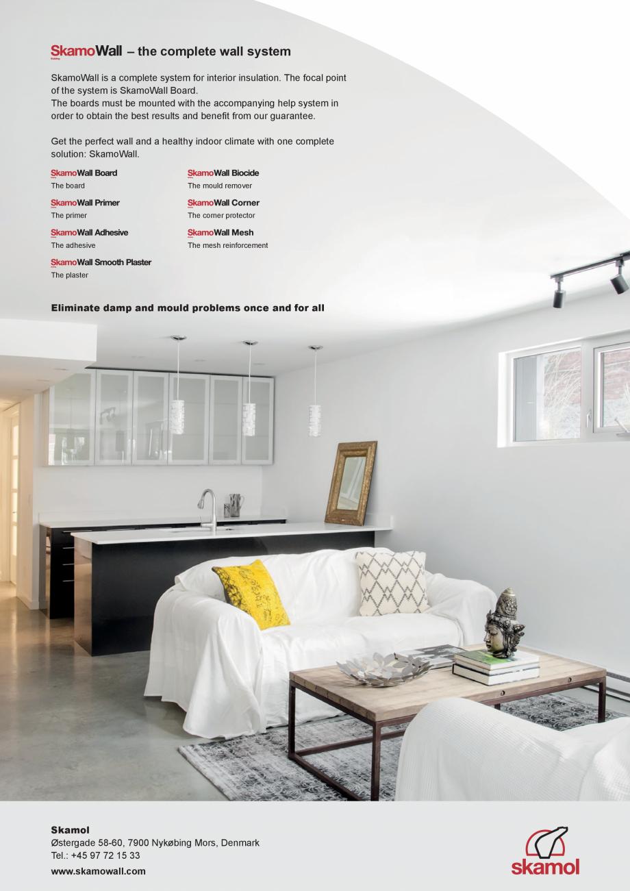 Pagina 6 - Prezentarea sistemului de izolatie pentru interior din placi de silicat de calciu SKAMOL ...