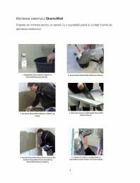 Istructiuni de montare a sistemului de izolatie cu placi minerale din silicat de calciu - SkamoWall