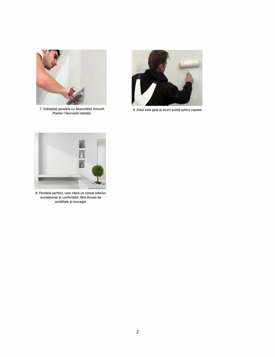 Pagina 2 - Istructiuni de montare a sistemului de izolatie cu placi minerale din silicat de calciu -...