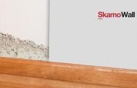 Sistem de izolare interioara si de control al mucegaiului din placi de silicat de calciu  SKAMOL