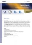 Placi izolante din vata minerala bazaltica FIBRANgeo - B-040