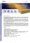 Placi izolante din vata minerala bazaltica dispusa in fibre impletite FIBRANgeo - BP ETICS plus