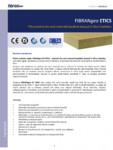 Placi izolante din vata minerala bazaltica dispusa in fibre impletite FIBRANgeo - ETICS