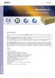 Placi izolante din vata minerala bazaltica  FIBRANgeo - B-050