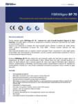 Placi izolante din vata minerala bazaltica dispusa in fibre impletite FIBRANgeo - BP 70