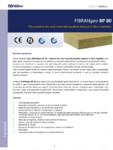 Placi izolante din vata minerala bazaltica dispusa in fibre impletite FIBRANgeo - BP 80