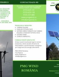 PMG WIND ROMANIA - brosura de prezentare