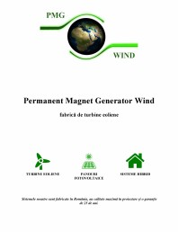 PMG WIND ROMANIA - Catalog general de produse