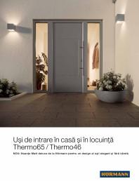 Usi de intrare in casa si in locuinta Thermo65 / Thermo46