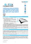 Membrană din FPO hidroizolantă GEODRY - G-TEX FOUNDATION