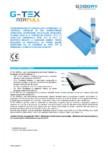 Membrană din FPO hidroizolantă GEODRY - G-TEX AIRFULL