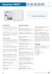 Ventilator aerisire cu recuperator de caldura cu flux alternant si acumulator ceramic aerauliqa - Quantum Next