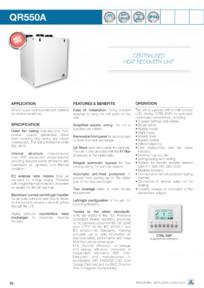 Centrala ventilatie cu recuperator de caldura aerauliqa
