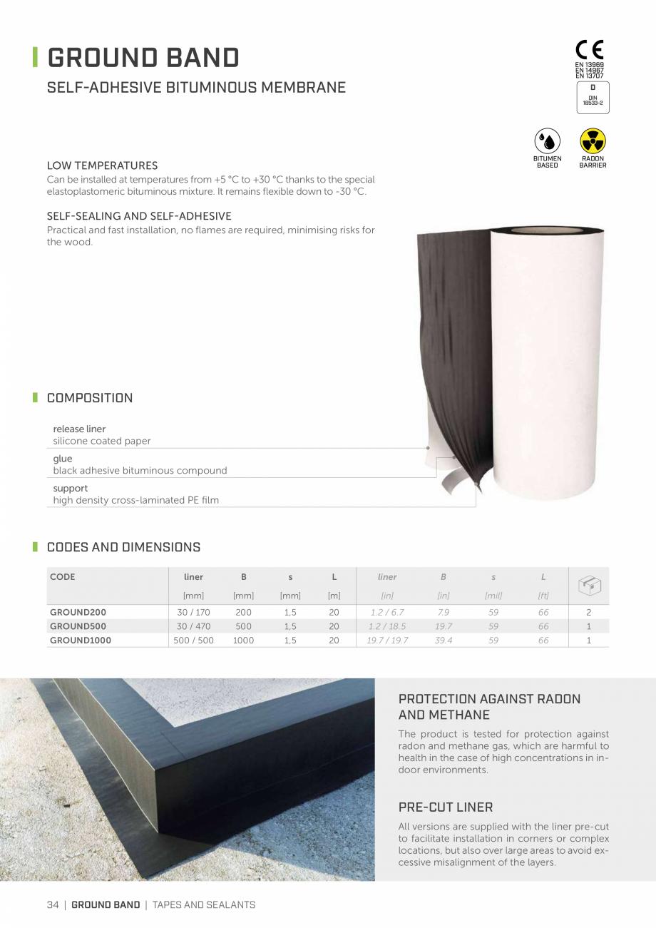 Pagina 33 - Bariere de vapori si control al difuziei pentru acoperis ROTHOBLAAS Catalog, brosura...