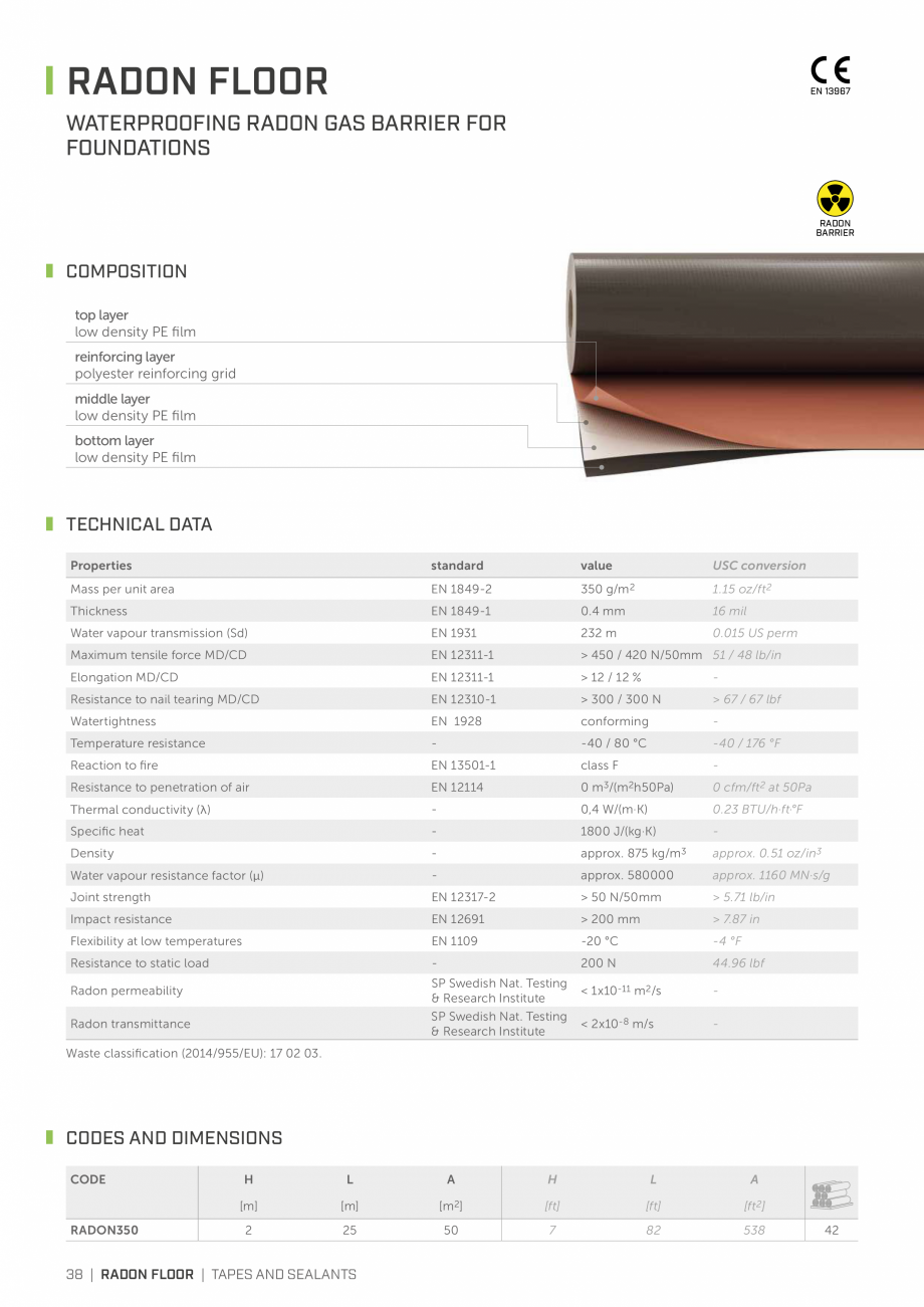 Pagina 37 - Bariere de vapori si control al difuziei pentru acoperis ROTHOBLAAS Catalog, brosura...