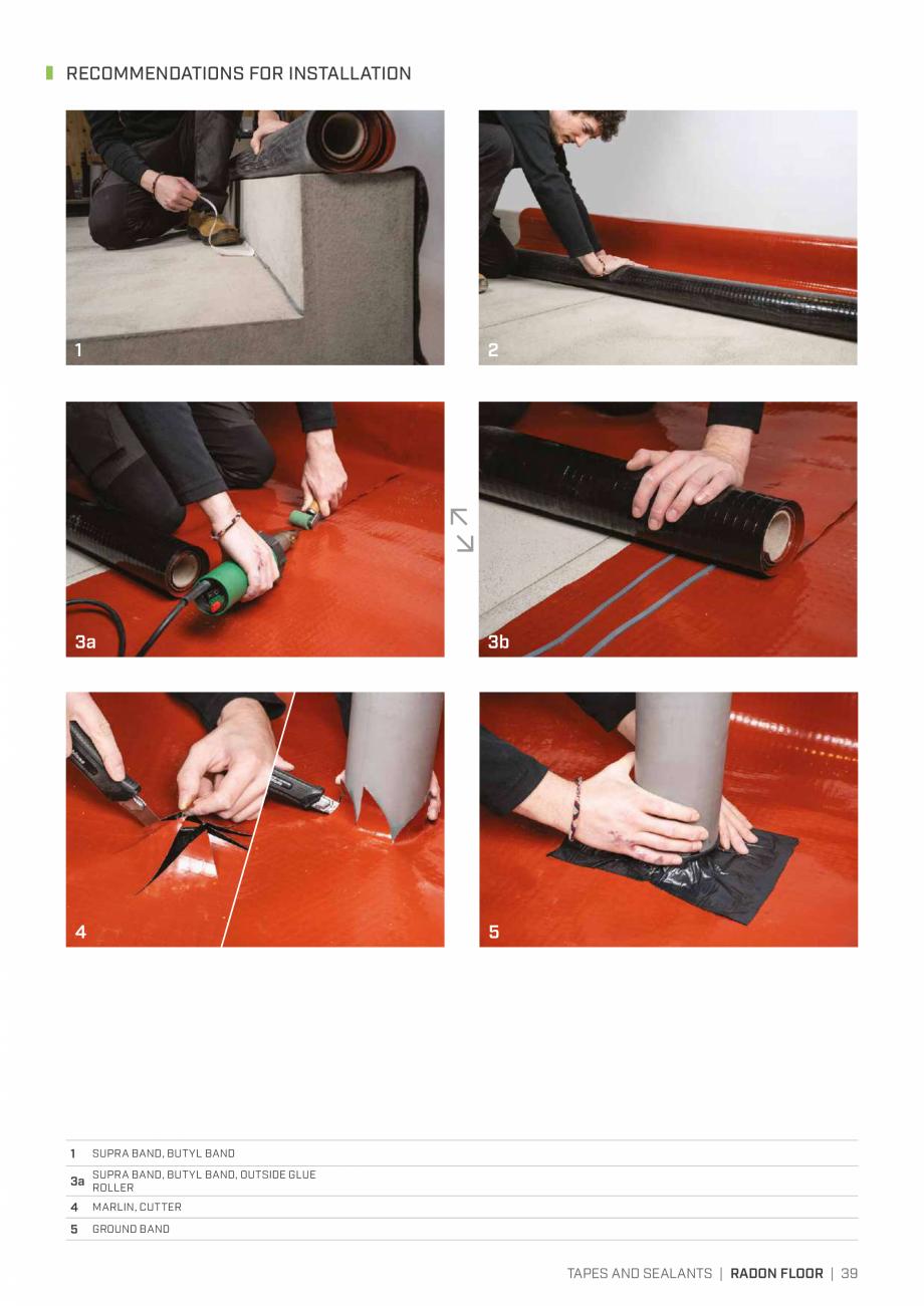 Pagina 38 - Bariere de vapori si control al difuziei pentru acoperis ROTHOBLAAS Catalog, brosura...