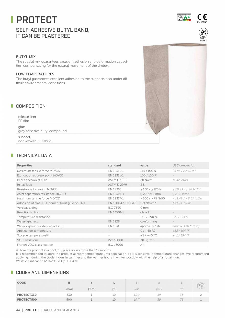 Pagina 43 - Bariere de vapori si control al difuziei pentru acoperis ROTHOBLAAS Catalog, brosura...