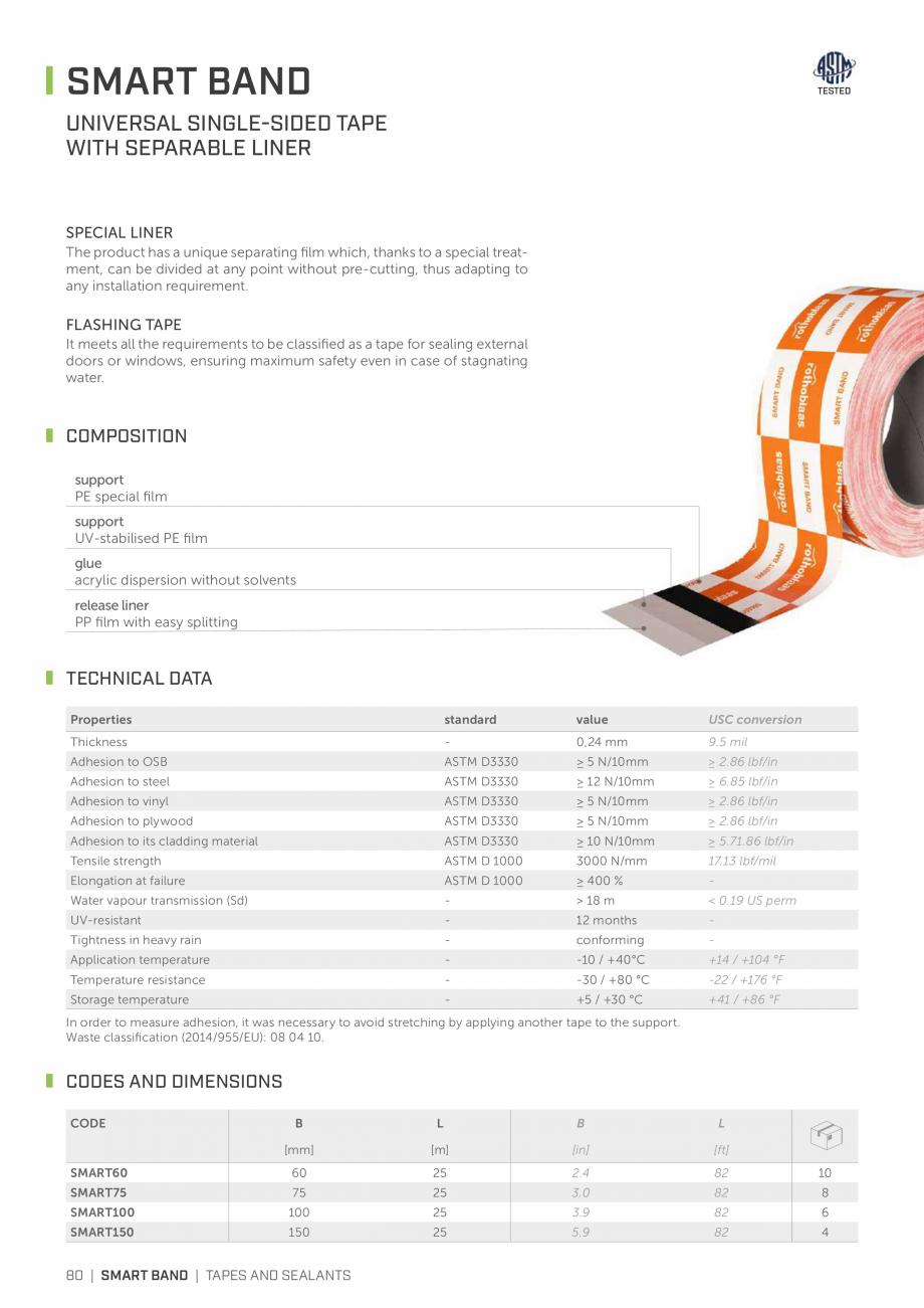 Pagina 79 - Bariere de vapori si control al difuziei pentru acoperis ROTHOBLAAS Catalog, brosura...